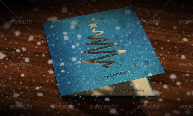 Multipurpose Greeting Card Mockup PSD