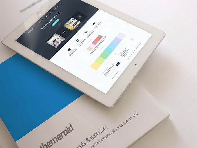 Notepad & Magazine Mockup PSD