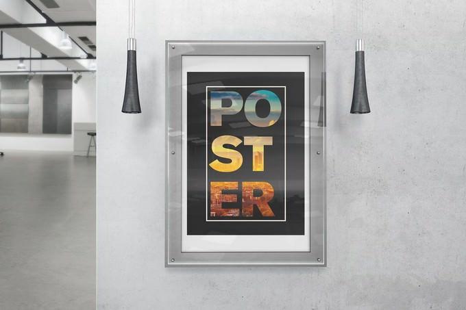 Poster Mockups Premium PSD