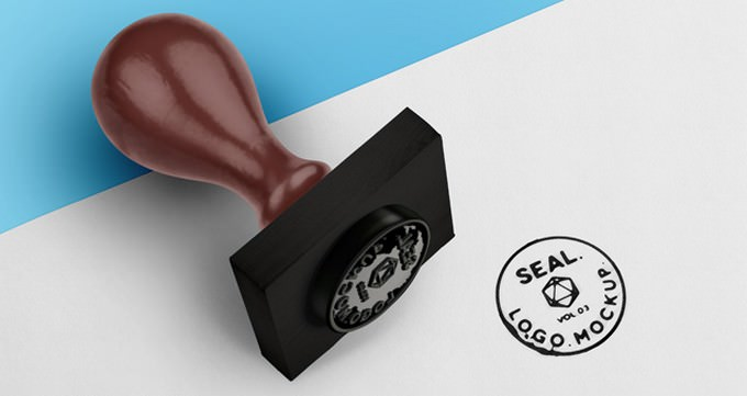 Psd Wood Ink Seal Template