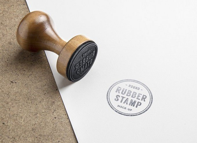 Rubber Stamp PSD