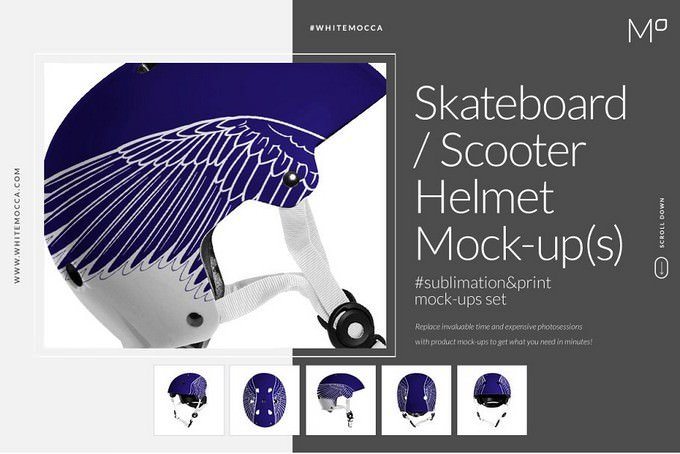Skateboard Scooter Helmet PSD