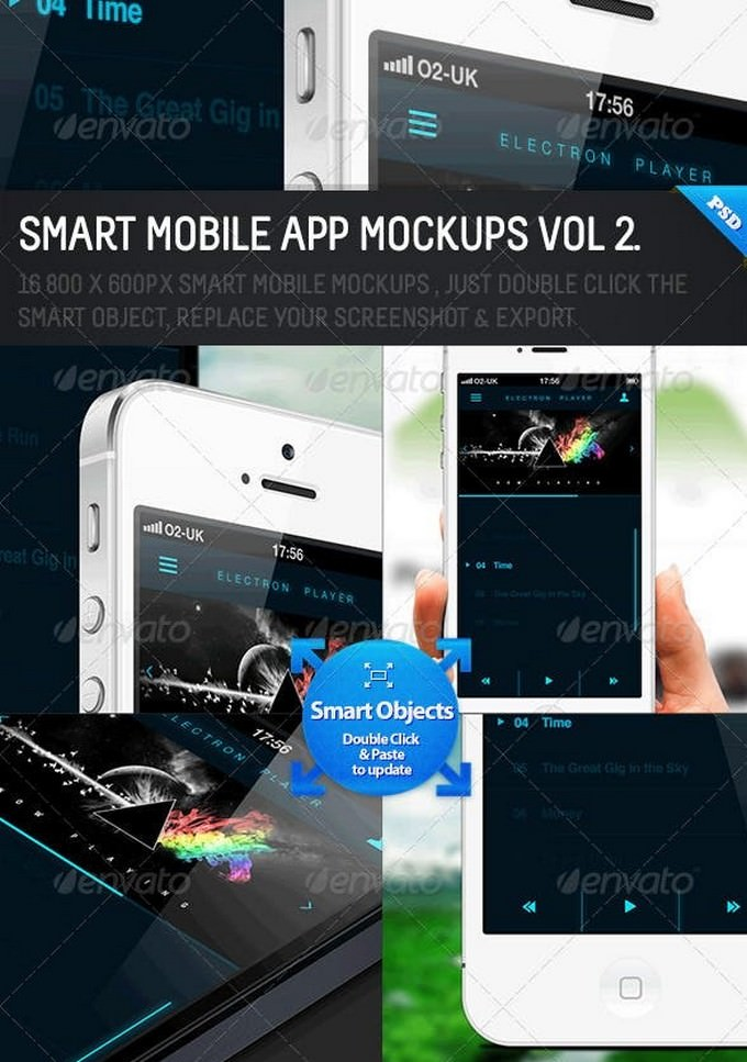 Smart Mobile App Mockups