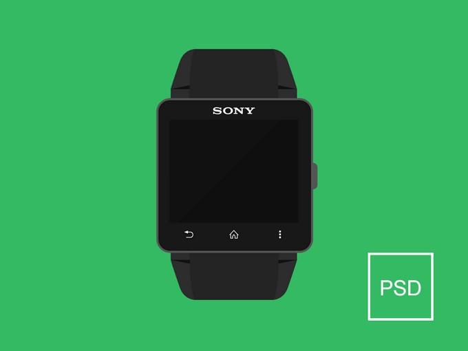 Smartwatch 2 Free Mockup