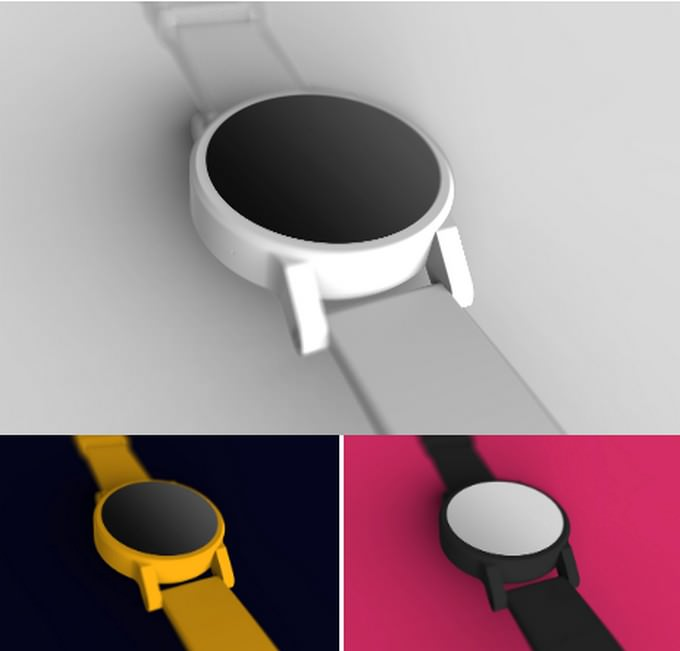 Smartwatch Wearable Device Mockup