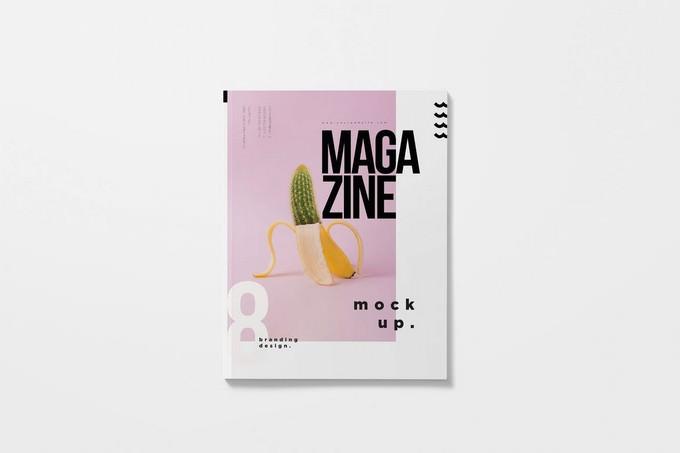 Softcover Magazine Mockups