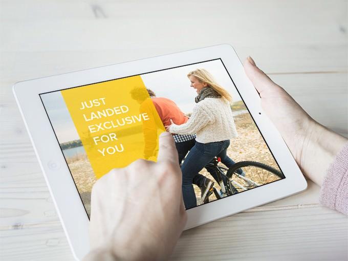 iPad Photo Mockup Free