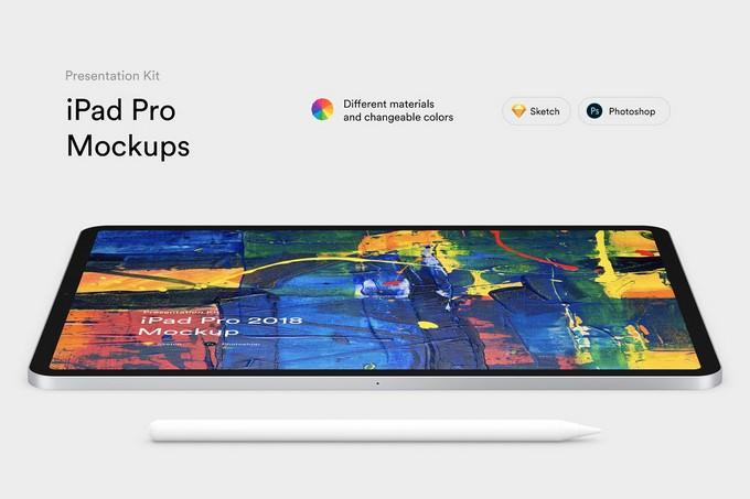 iPad Pro Mockups PSD