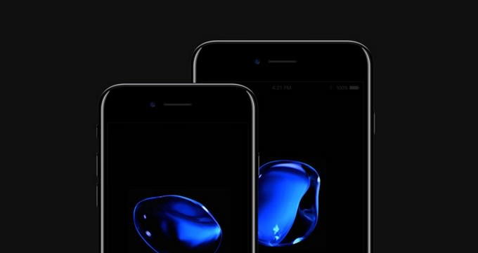 iPhone 7 Psd Jet Black PSD