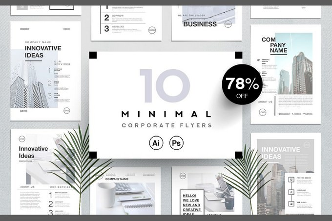 Corporate Business Flyers Bundle