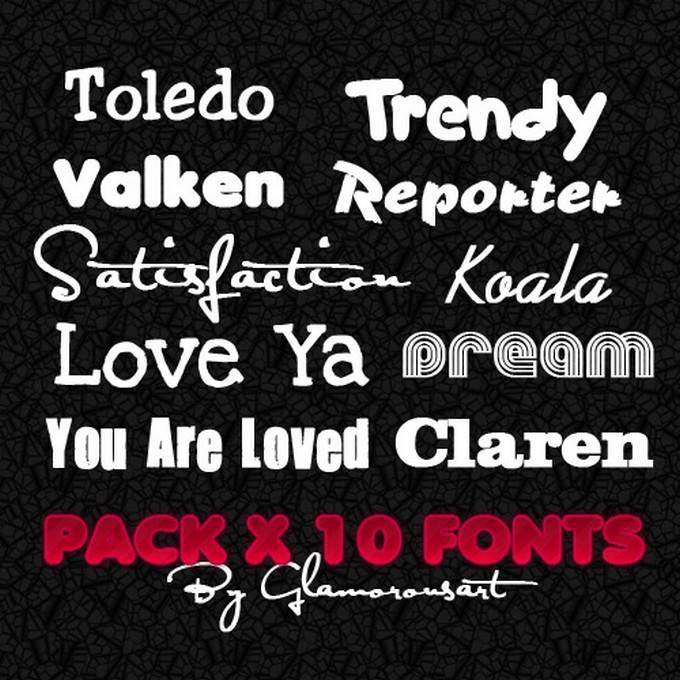 10 Font