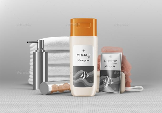 Shampoo Bottle Mockups