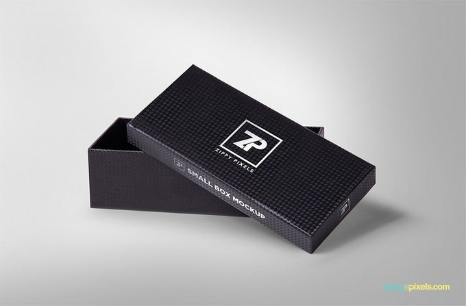 Attractive Gift Box Mockups PSD