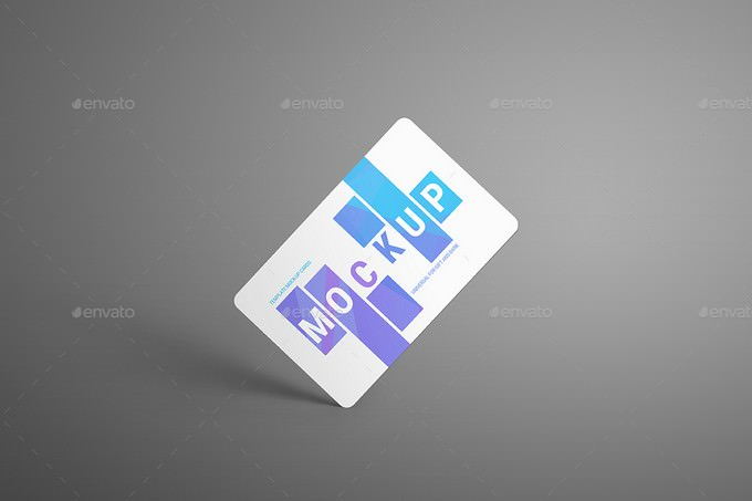 Mockups Universal For Gift and Bank Cards