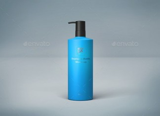 500ml Shampoo Bottle PSD
