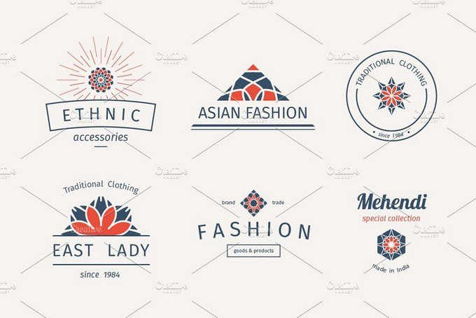 6 Fashion Logo