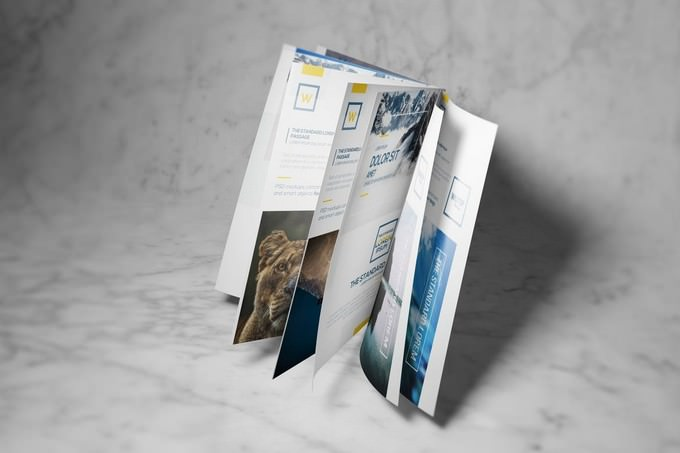 A4 Brochure-Booklet Mockup