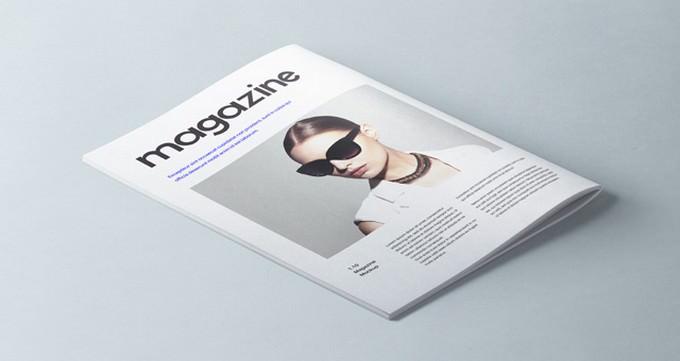 A4 Psd Magazine Booklet Mockup