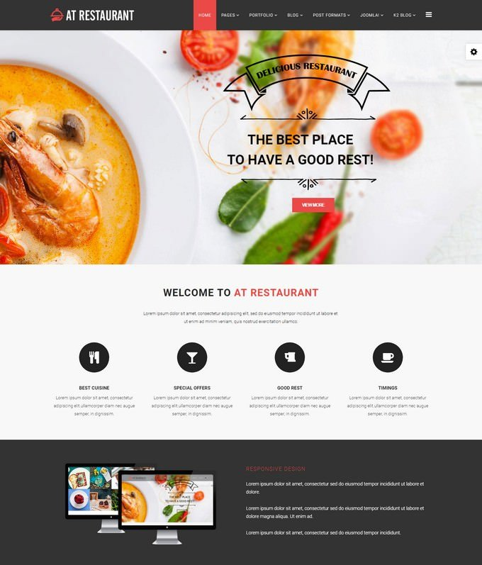 AT Restaurant Template