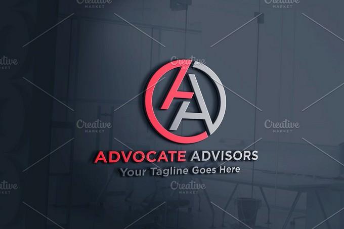 Advocate Advisors Logo Template