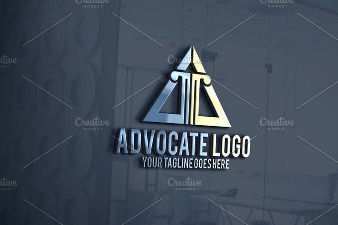 Advocate Logo Letter A logo Template