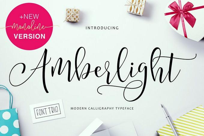 Amberlight Font