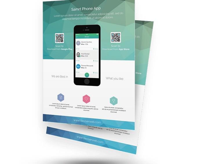 App Promotion Flyer Templates