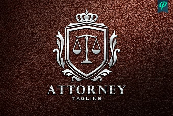 Attorney, Lawyer Logo Template