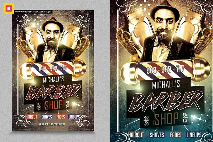 Barber Shop Flyer V2