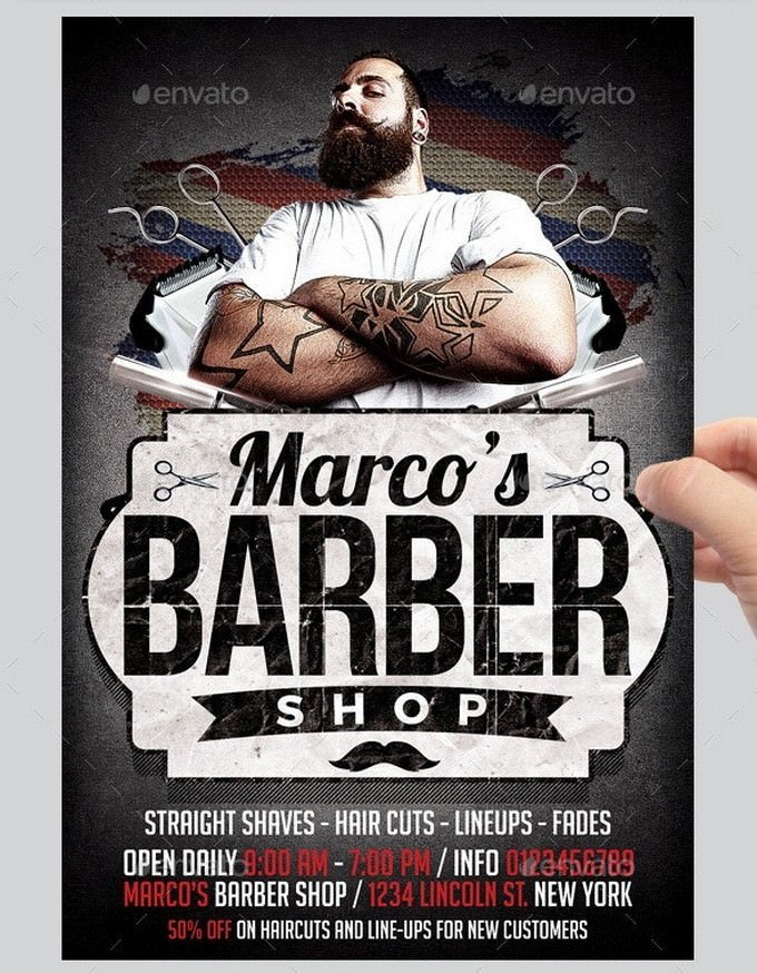 Barbershop Flyer 2