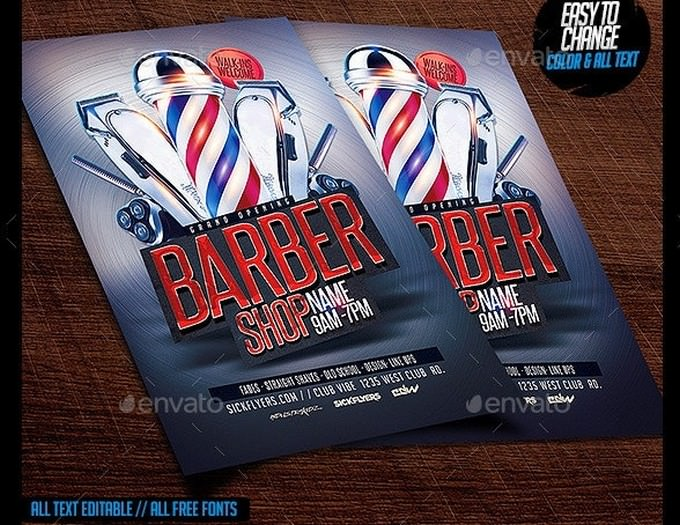Barbershop Flyer # 3