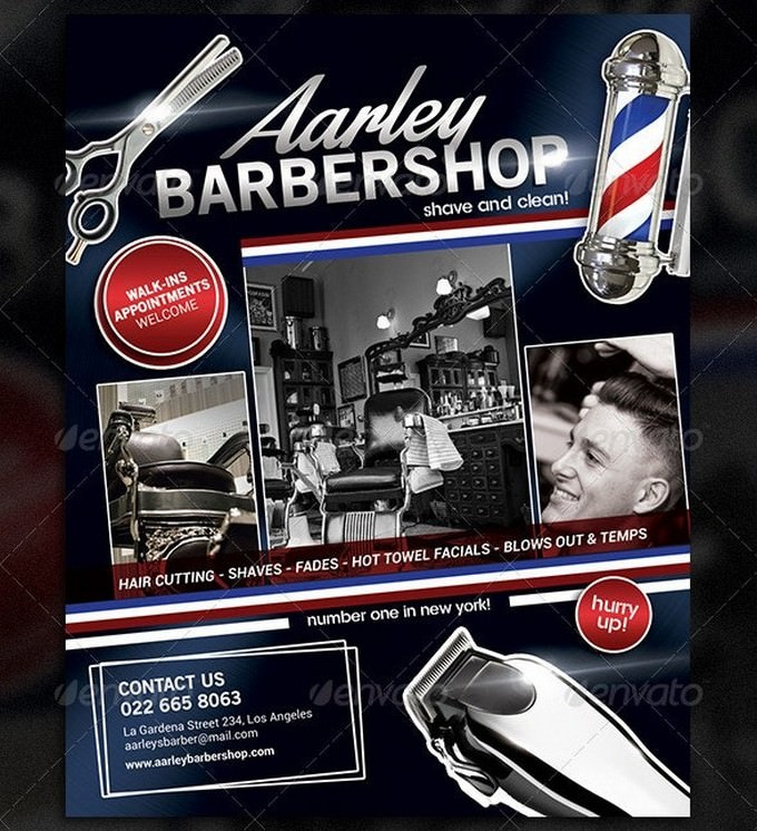 Barbershop Flyer