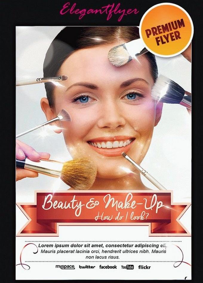 Beauty Make-Up Flyer