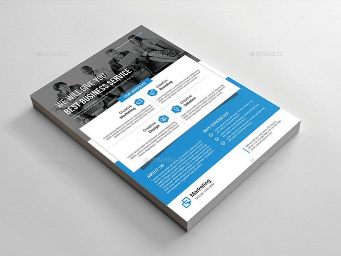 Best Business Service Flyer Template
