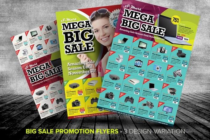 Big Sale Promotion Flyer