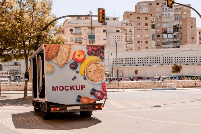 Billboard Mockup Truck