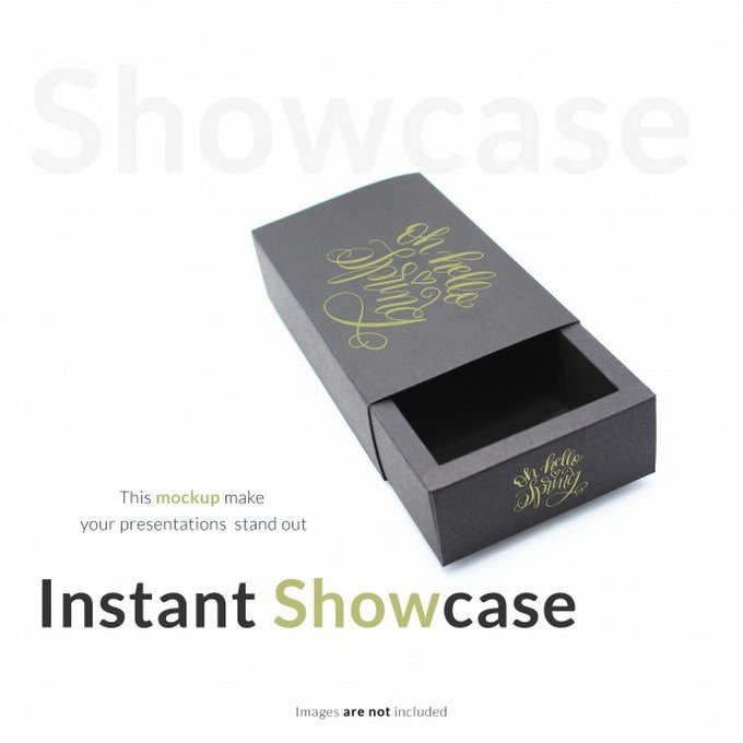Instant Showcase PSD