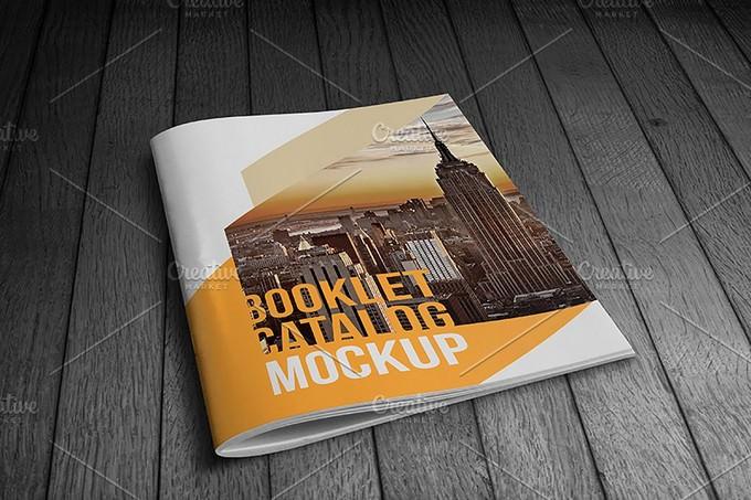 Booklet Catalog Mockup