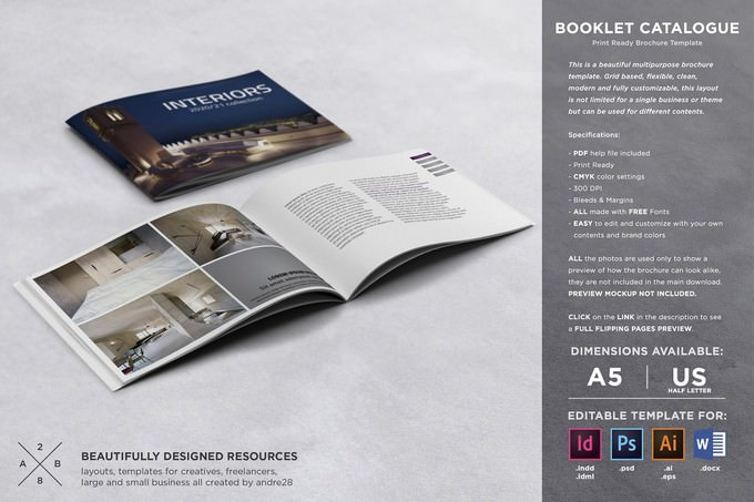 Booklet Catalogue