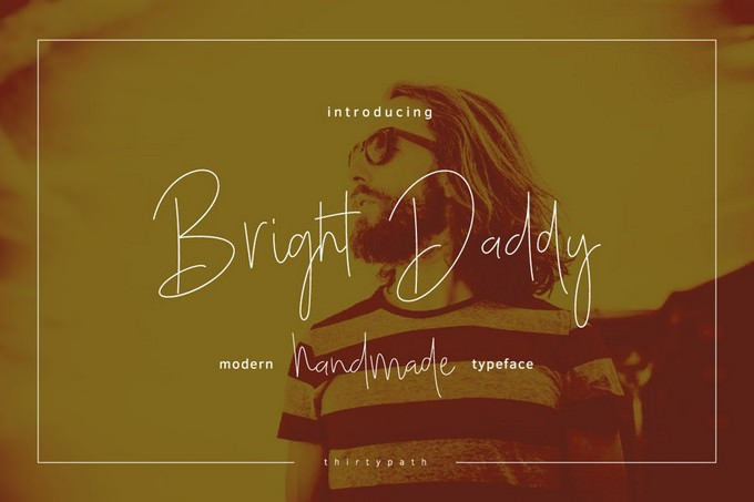 Bright Daddy Typeface