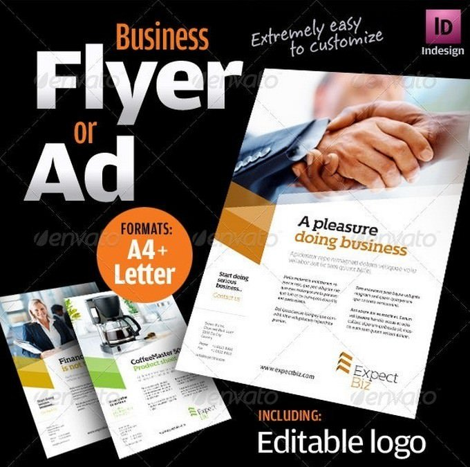 Business Flyer Product sheet
