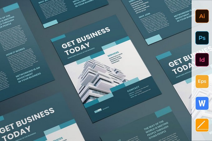 Business Networking Flyer Template