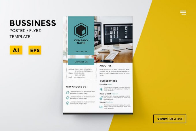 Business Poster Flyer Template