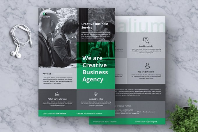 Calium Corporate Flyer