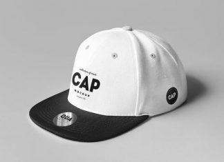 Cap Mock-up PSD