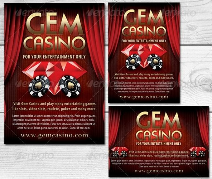Casino Magazine Ads or Flyers