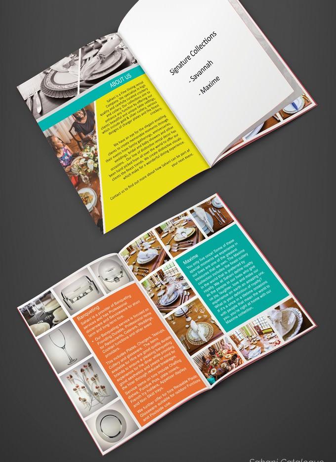 Catalog Booklet Mockup