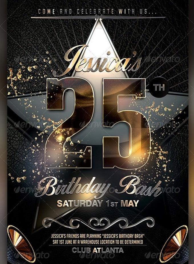 Celebrate Birthday PSD