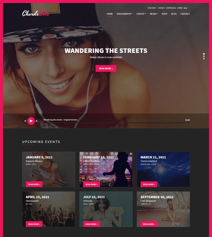 Radio WordPress Theme