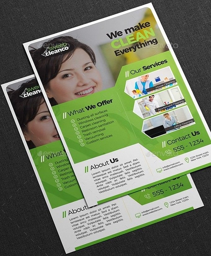 Cleaning Company Flyer